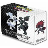 DECK BOX POKEMON NOIR ET BLANC ULTRA PRO