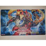 TAPIS PLAYMAT YU GI OH : DRAGON PENDULE AUX YEUX RUNIQUES