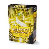 SLEEVES DRAGON SHIELD YELLOW MATTE JAPANESSE
