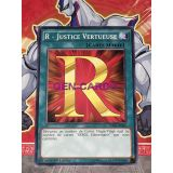 R - JUSTICE VERTUEUSE ( SDHS-FR030 )