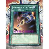 DESTRUCTION DE CARTE ( SDZW-FR031 )